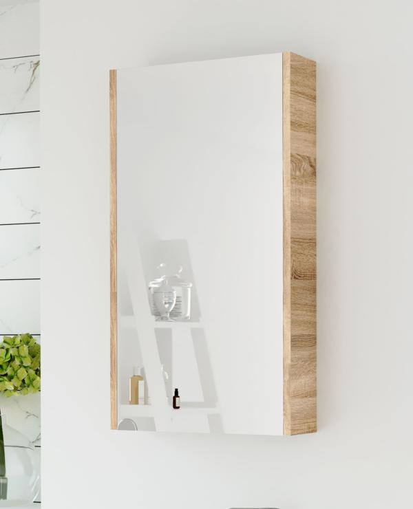 Spiegelschrank 40cm (Sonoma Eiche)