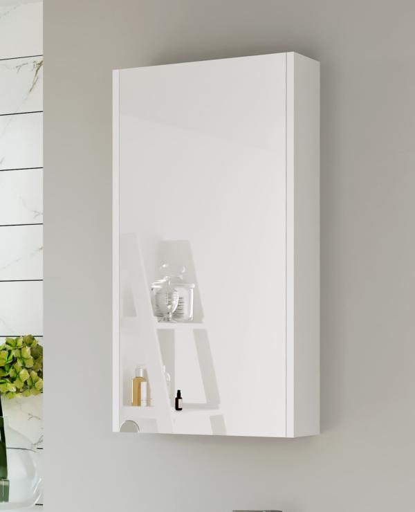 Spiegelschrank 40cm (Weiß)
