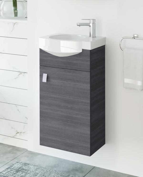 Waschtischunterschrank 40cm (Anthrazit)